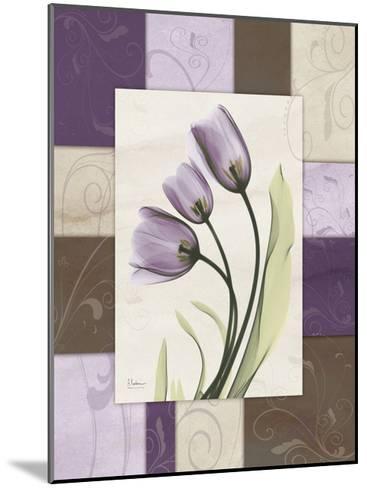Tulips Wineberry-Albert Koetsier-Mounted Art Print