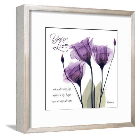 Your Love, Purple Tulip-Albert Koetsier-Framed Art Print