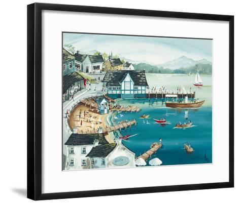 Sunny Ambleside-Anne Blundell-Framed Art Print