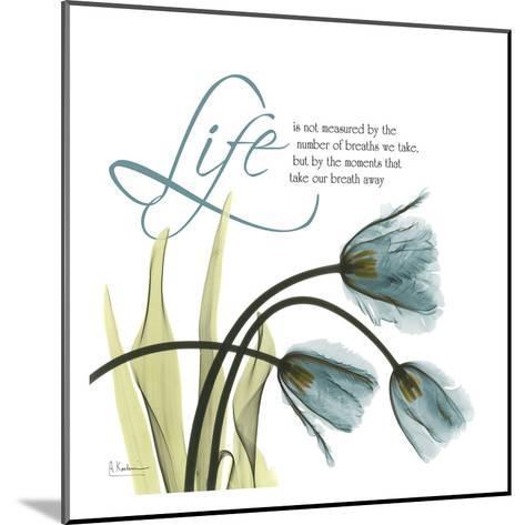Swaying Tulips Blue, Life-Albert Koetsier-Mounted Art Print