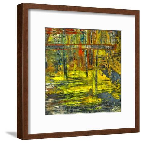 Abstract Stripes, no. 12-Jean-Fran?ois Dupuis-Framed Art Print