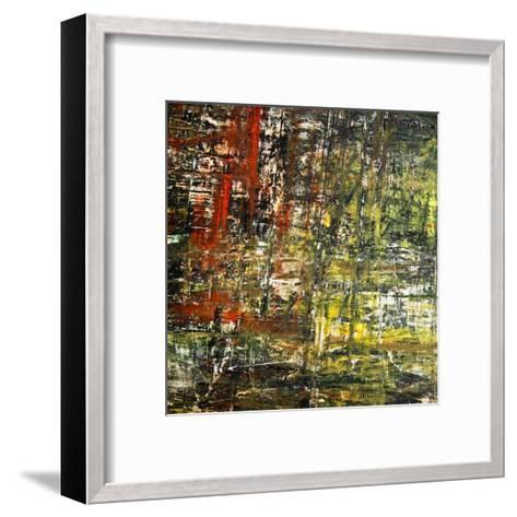 Abstract Stripes, no. 6-Jean-Fran?ois Dupuis-Framed Art Print