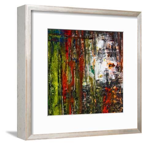 Abstract Stripes, no. 7-Jean-Fran?ois Dupuis-Framed Art Print