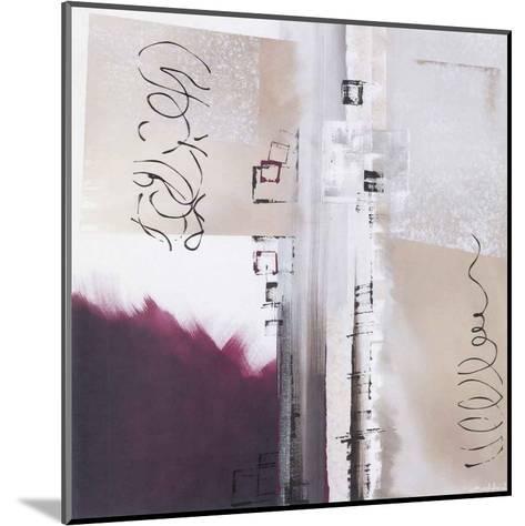 Abstraction Violette-Elisa Godefroid-Mounted Art Print