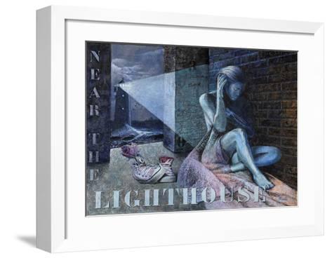 Lighthouse-Joëlle Vermeille-Framed Art Print