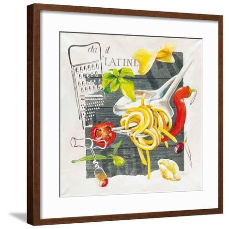 Pate Latini-Lizie-Framed Art Print