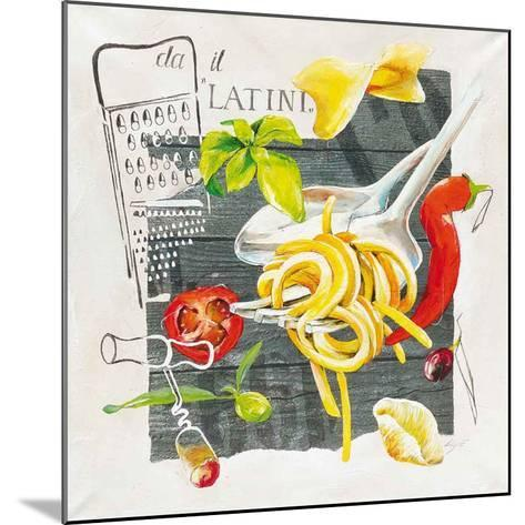 Pate Latini-Lizie-Mounted Art Print