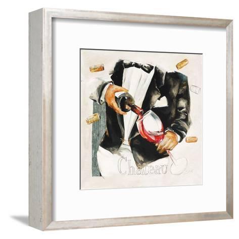 Vin Château-Lizie-Framed Art Print