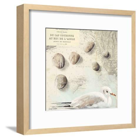 Galets Cap Couronne-Pascal Cessou-Framed Art Print