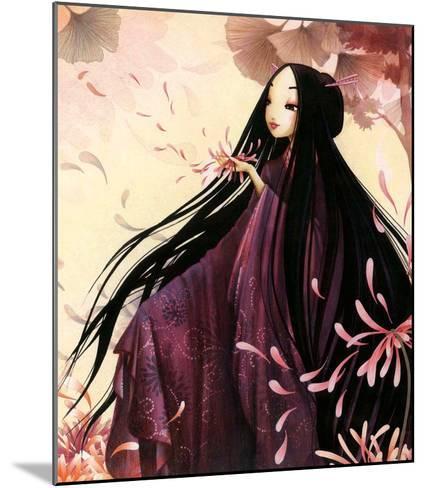 O-Kiku-Misstigri-Mounted Art Print