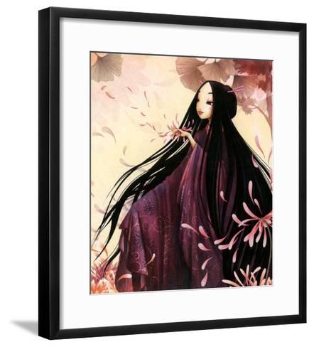 O-Kiku-Misstigri-Framed Art Print