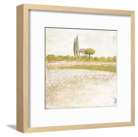 Cabanon Bleu-V?ronique Didier-Laurent-Framed Art Print