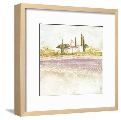 Village Violet-V?ronique Didier-Laurent-Framed Art Print