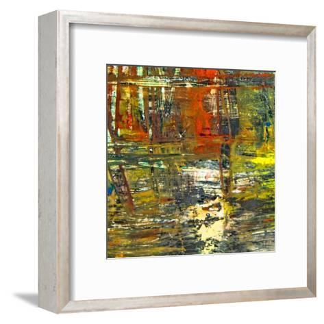 Abstract Stripes, no. 10-Jean-Fran?ois Dupuis-Framed Art Print