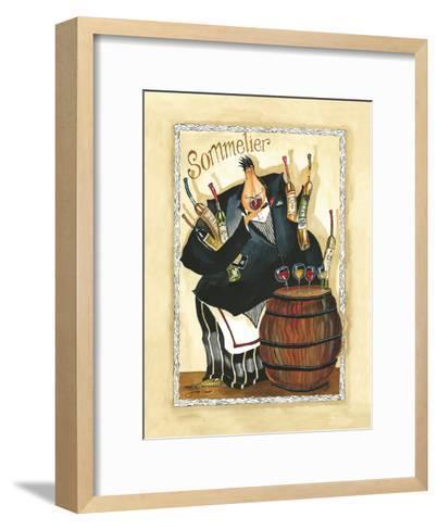 Wine & Roses I-Jennifer Garant-Framed Art Print