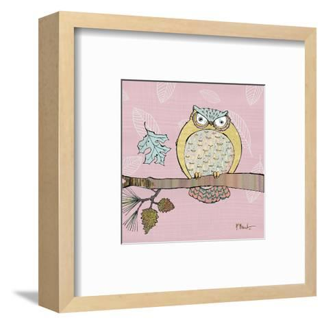 Pastel Owls III-Paul Brent-Framed Art Print