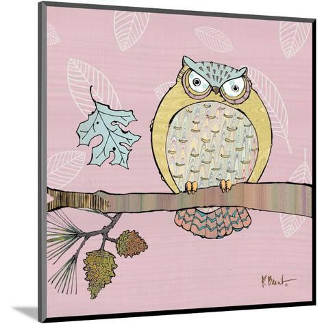 Pastel Owls III-Paul Brent-Mounted Art Print