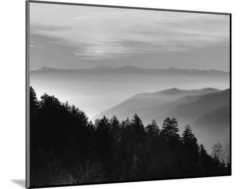 Smoky Mountains--Mounted Art Print