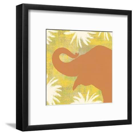Elephant-Erin Clark-Framed Art Print