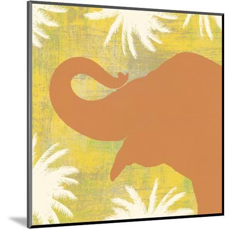 Elephant-Erin Clark-Mounted Art Print
