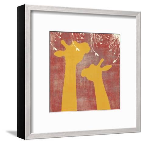 Giraffe-Erin Clark-Framed Art Print