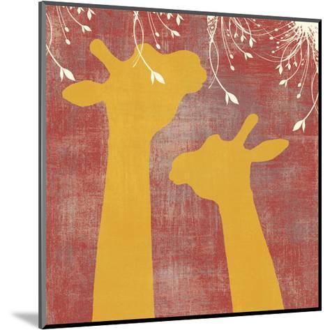 Giraffe-Erin Clark-Mounted Art Print
