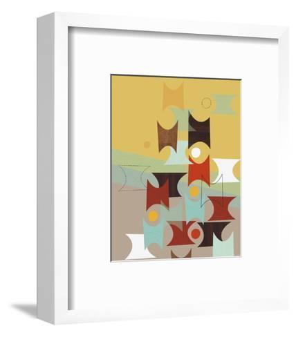 Hour Glasses-Jenn Ski-Framed Art Print