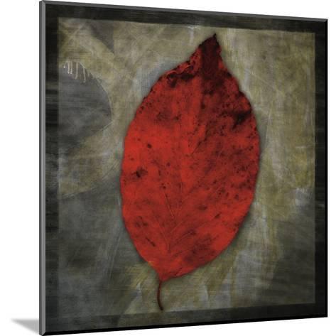 Red Dogwood-John Golden-Mounted Art Print