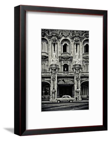 Gran Teatro de la Habana-Sabri Irmak-Framed Art Print