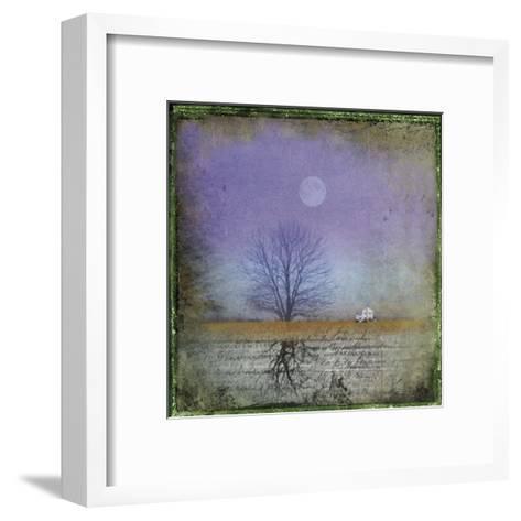 Moonlight in Vermont-Dawne Polis-Framed Art Print
