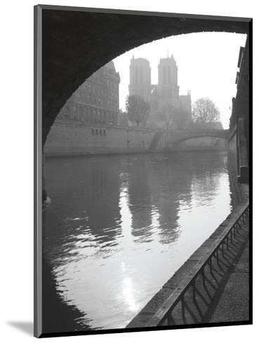 Notre Dame Reflection-Christopher Bliss-Mounted Giclee Print