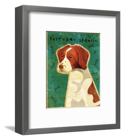 Brittany-John Golden-Framed Art Print