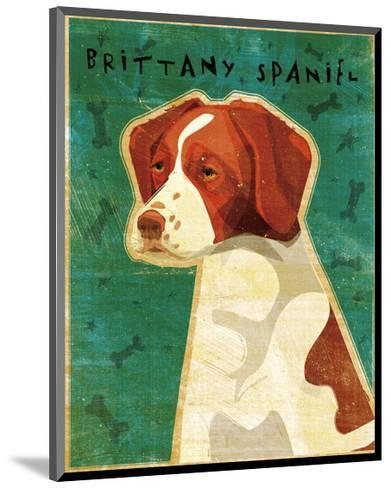 Brittany-John Golden-Mounted Giclee Print