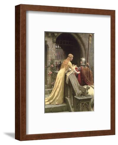 God Speed-Edmund Blair Leighton-Framed Art Print