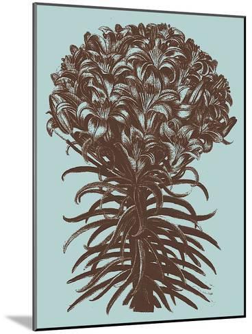 Lilies, no. 18--Mounted Art Print