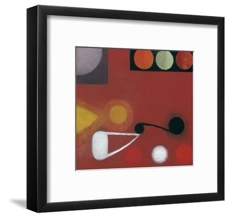 Small Red Seed, no. 10-Bill Mead-Framed Art Print