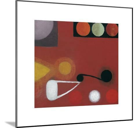 Small Red Seed, no. 10-Bill Mead-Mounted Art Print