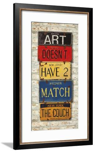 Couch-Greg Constantine-Framed Art Print