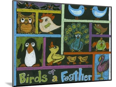 Birds of a Feather-Lisa Choate-Mounted Art Print