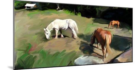 Guilford Horses I-Robert Mcclintock-Mounted Art Print