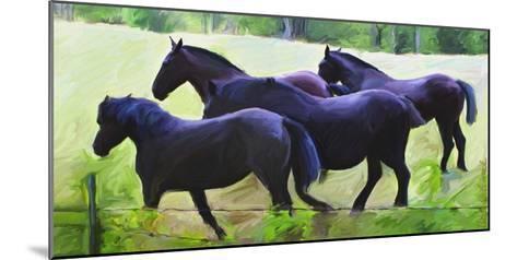 Guilford Horses II-Robert Mcclintock-Mounted Art Print