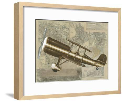 Tour by Plane I-Chariklia Zarris-Framed Art Print