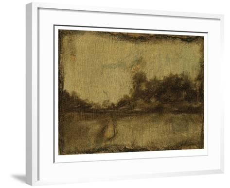Gilded Landscape II-Jennifer Goldberger-Framed Art Print