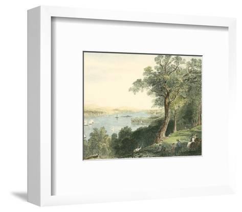 View from Hyde Park--Framed Art Print