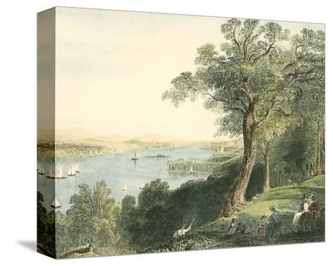 View from Hyde Park--Stretched Canvas Print