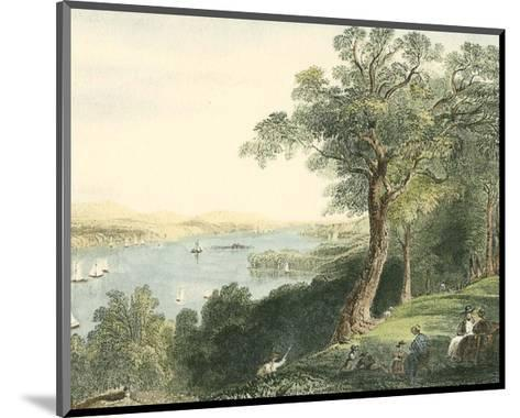 View from Hyde Park--Mounted Art Print