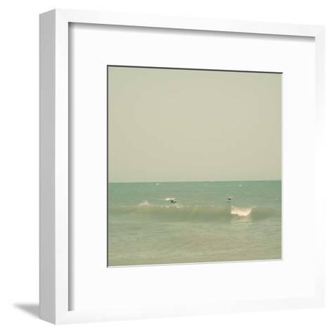Carolina Beach III-Alicia Ludwig-Framed Art Print
