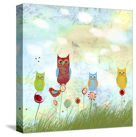 Owl Land-Ingrid Blixt-Stretched Canvas Print