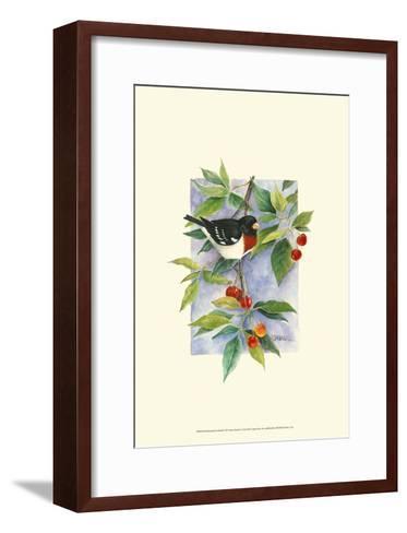 Red-Breasted Grosbeak-Janet Mandel-Framed Art Print