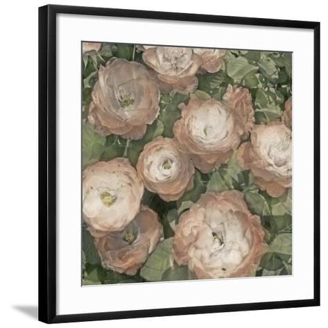 Ballerina Roses I-Chariklia Zarris-Framed Art Print